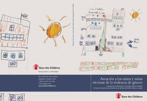 Portada Infancia víctima-Save the children