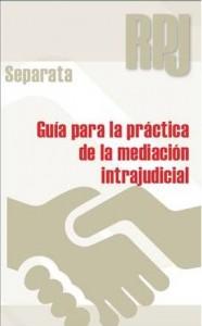 Guia mediacion intrajudicial