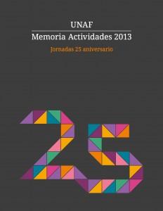 Portada memoria UNAF 2013