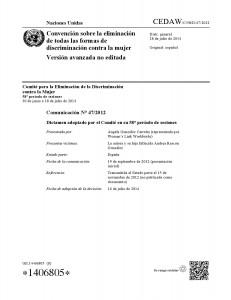 Portada Comunicacion 47-2012 NNUU