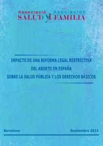 Portada Impacto de una reforma legal restrictiva del aborto en España
