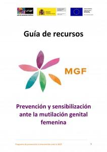 Portada Guía Recursos MGF UNAF 2015