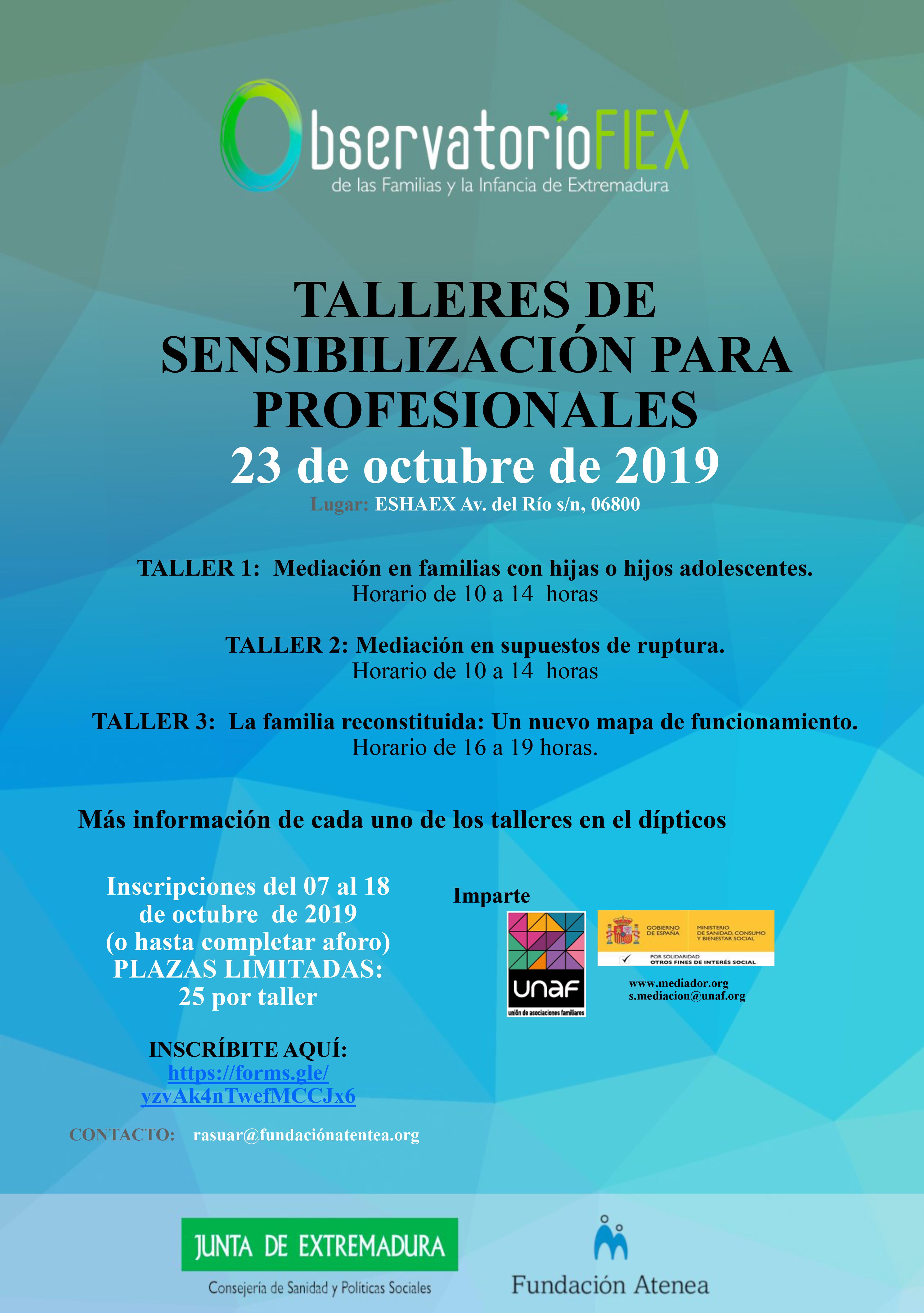 UNAF compartirá con familias y profesionales de Extremadura pautas para mejorar la convivencia familiar y resolver conflictos de forma positiva