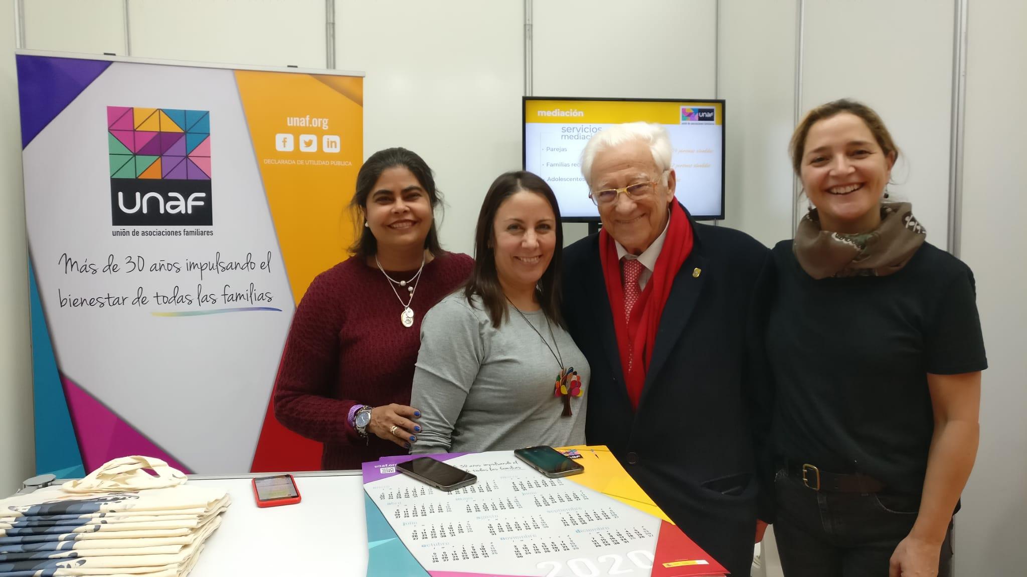 UNAF da a conocer sus actividades y servicios para las familias en la Feria de Asociacionismo de Madrid