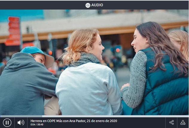 Entrevista en COPE Más Madrid sobre mediación con adolescentes