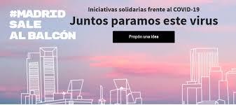 UNAF participa en la iniciativa 'Madrid sale al balcón'