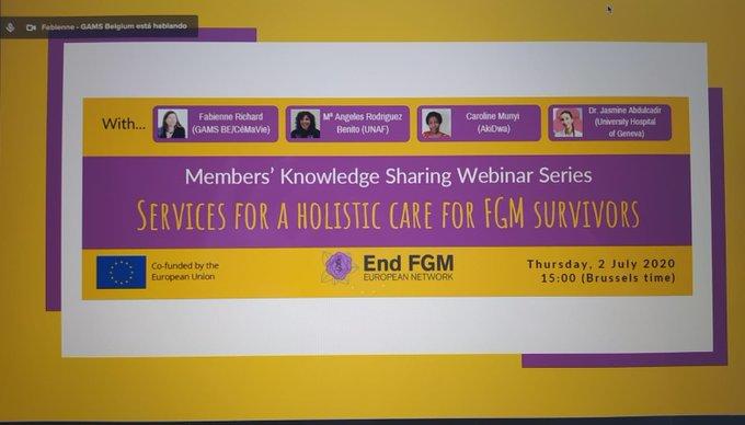 UNAF reclama un cuidado holístico para las supervivientes de mutilación genital femenina