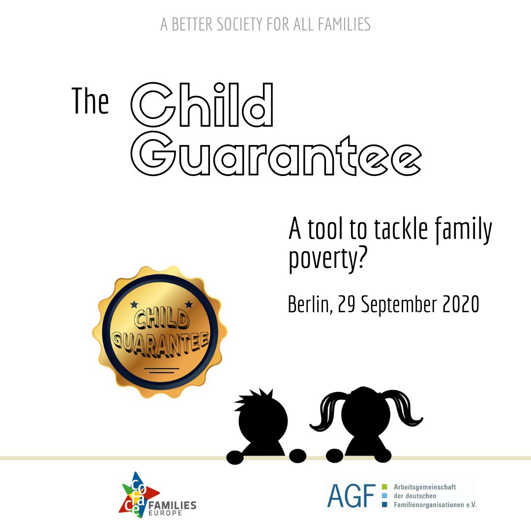 UNAF participa en el debate sobre la futura Garantía Infantil europea de COFACE