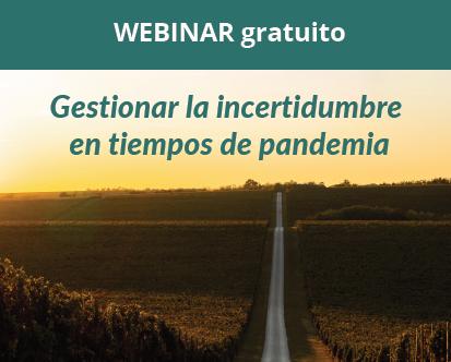 Webinar gratuito: Gestión de la incertidumbre