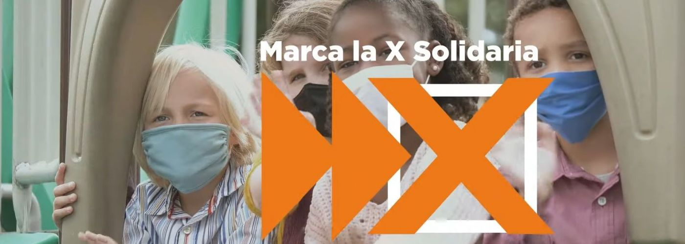 """Quienes marcan la """"X Solidaria"""" en la renta impulsan programas sociales destinados a infancia, juventud y familias"""