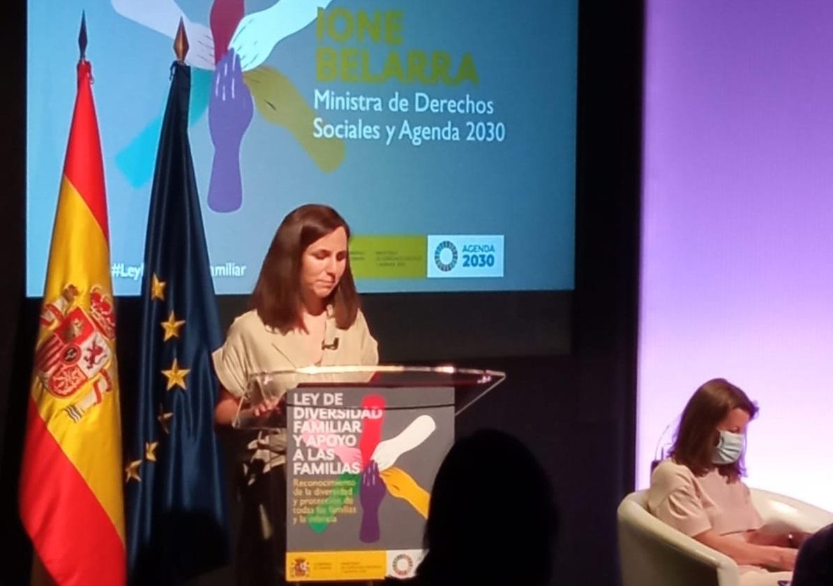 UNAF participa en el acto sobre la futura Ley de Diversidad Familiar