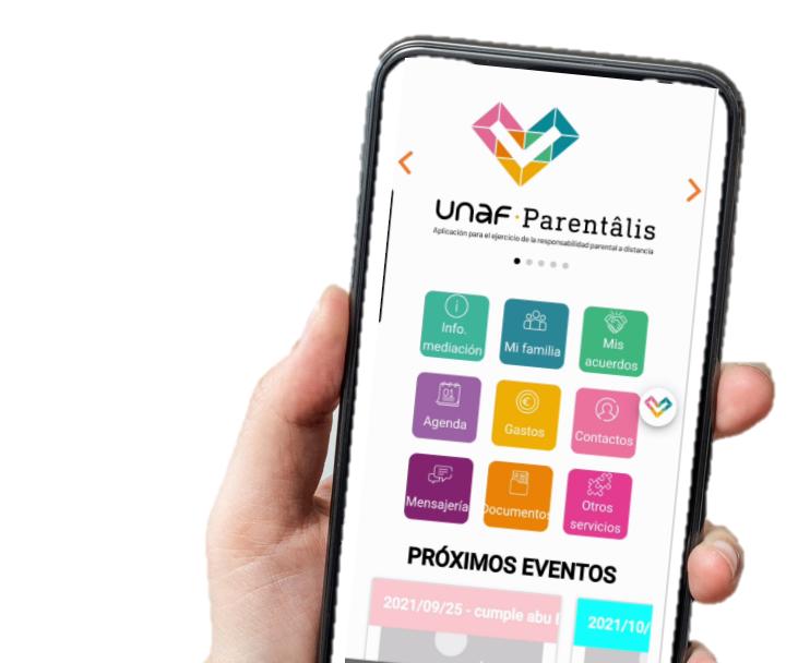 UNAF lanza una nueva App para facilitar el ejercicio de la responsabilidad parental a distancia